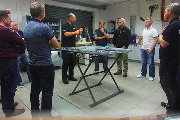 Team PR Reilly hosts Teroson training days