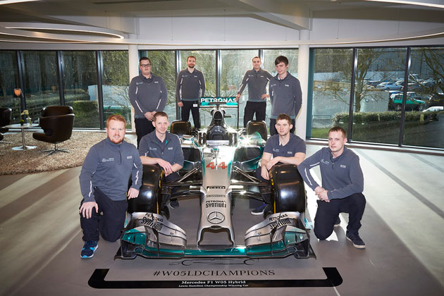 Mercedes AMG Petronas passionate about Spies Hecker
