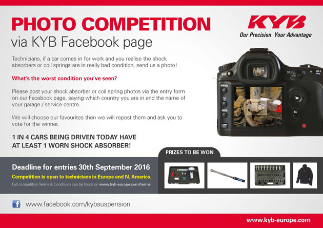 KYB launches social media photo competition