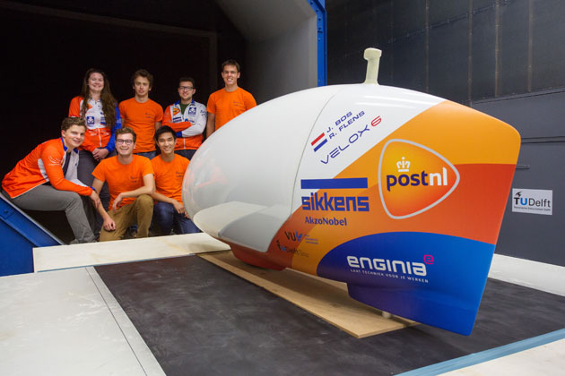 Human Power Team aims to break 140 km/h barrier with AkzoNobel support