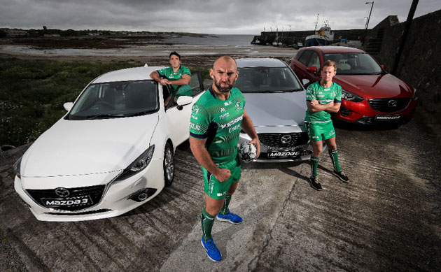 Mazda continues to sponsor Connacht Rugby