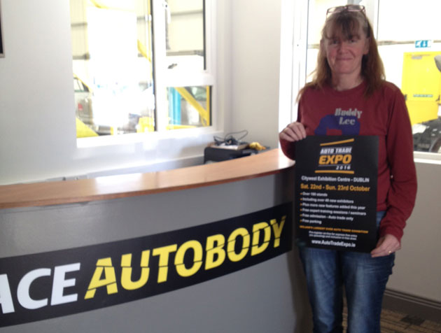 EXPO team visits Ace Autobody in Co. Wexford