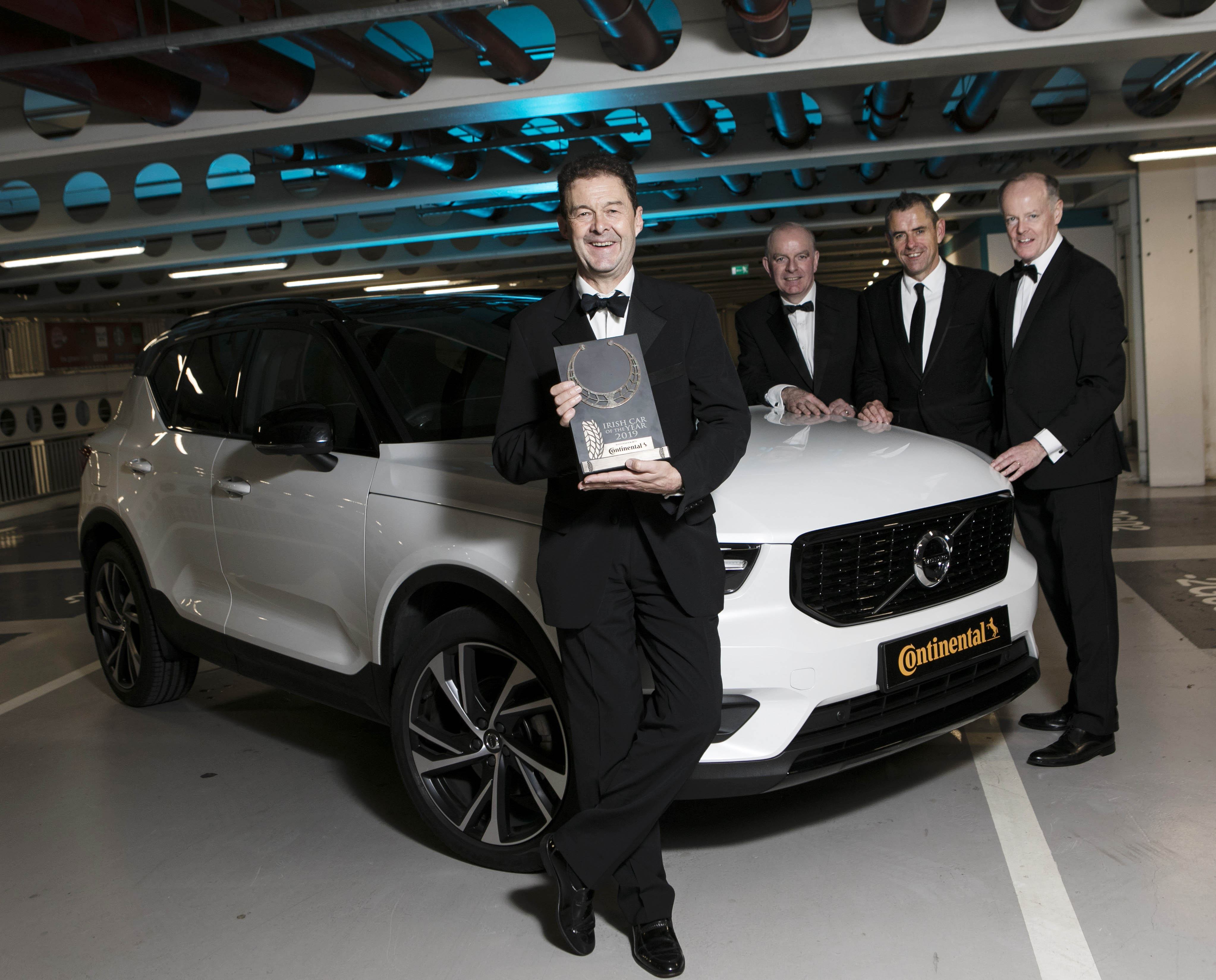 volvo xc40 crowned continental tyres irish car of the year 2019